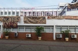 Ocupação Reitoria Unicamp (Foto: Gláucia Franchini)