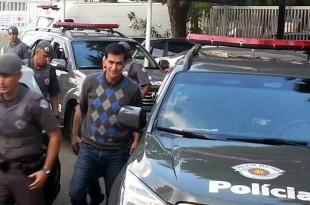Prefeito Reinaldo Nogueira foi preso por acusado de corrupção (Foto: Henrique Bueno)