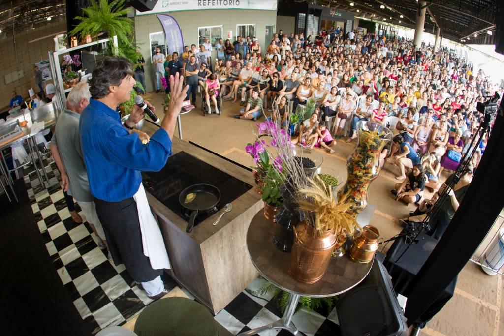 Chef Olivier Anquier no evento Ceasa Gourmet